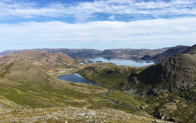 Photo: David Nikel There are no trees on Magerøya, but the island still offers spectacular views.