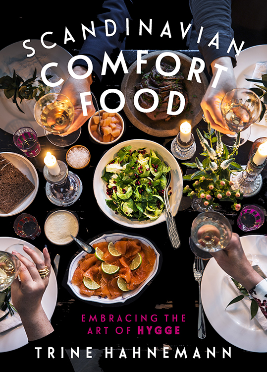 "Book cover of ""Scandinavian Comfort Food: Embracing the Art of Hygge"" by Trine Hahnemann"