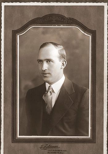 portrait of Anfinn Michael Oliver Kjeldsen