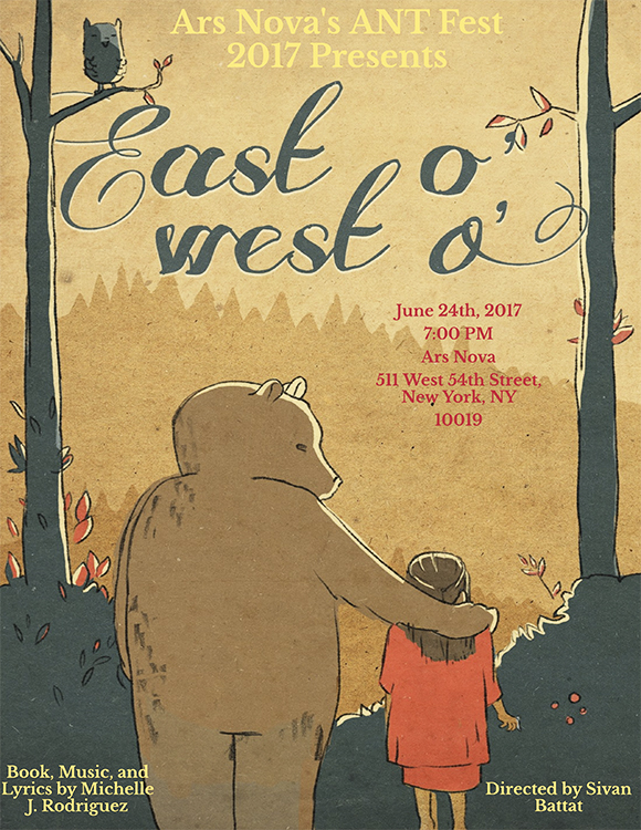 Poster for East o', West o', a rendition of East of the Sun and West of the Moon