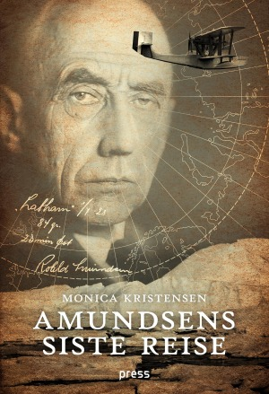 "The cover of ""Amundsens siste reise"""