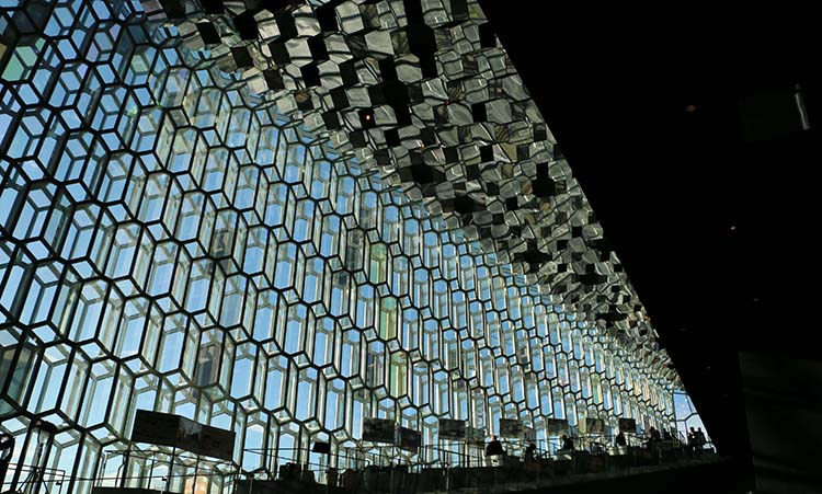 Harpa Concert and Conference Center.