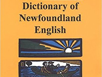Dictionary of Newfoundland English
