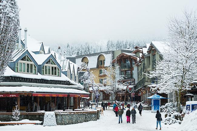 Canadian ski resorts: Whistler