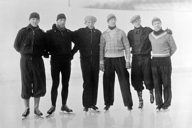 Norwegian Winter Olympic medals: Speed skating