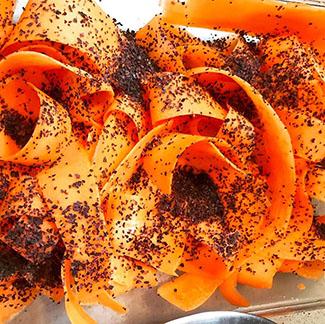 "Sunny Gandara: Smoked Carrot ""Lox"""