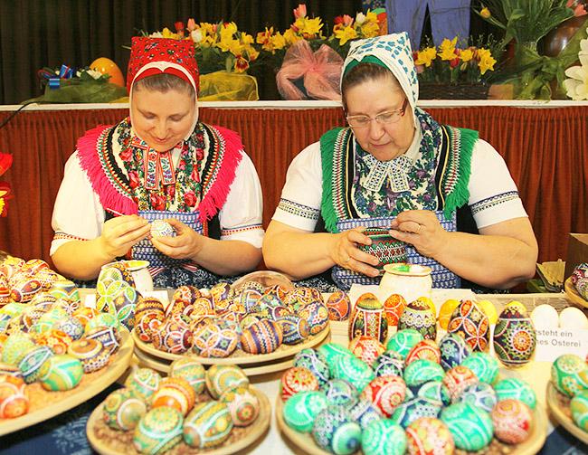Sorbian folk art - Easter