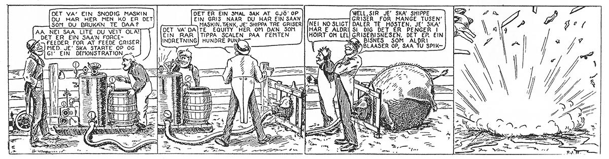 Norwegian comics - Han Ola og Han Per
