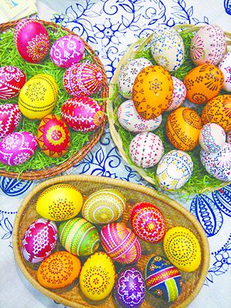 Sorbian folk art - Easter eggs