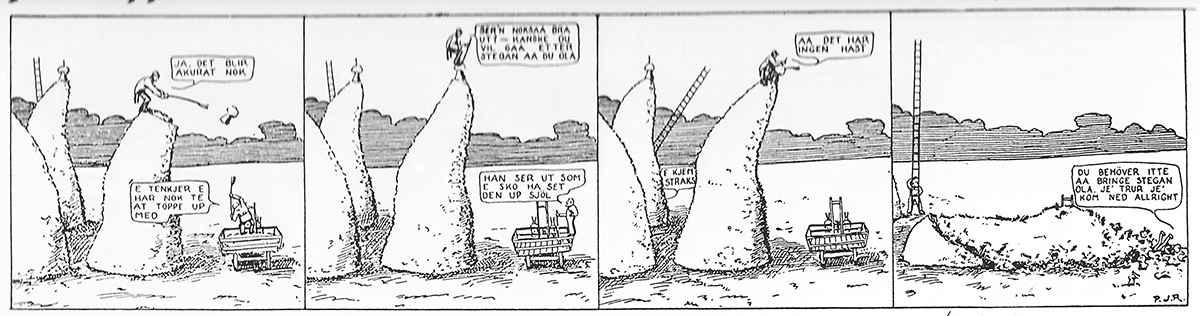 Han Ola and han Per Norwegian Comic