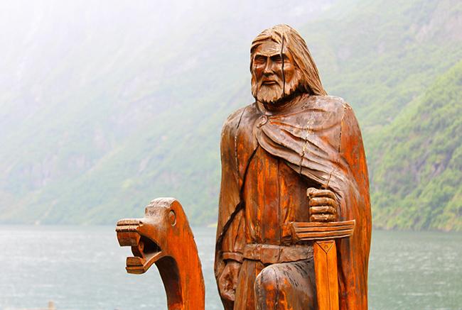 Viking sites - Gudvangen