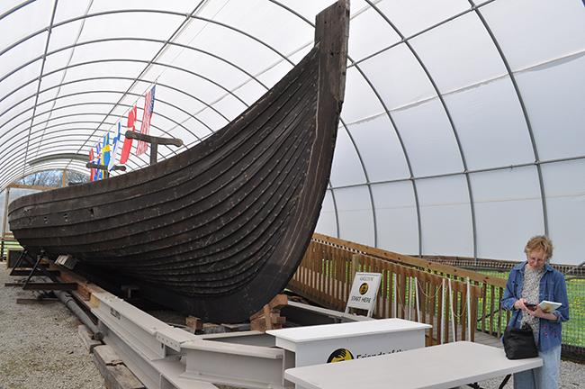 Geneva's Viking longship