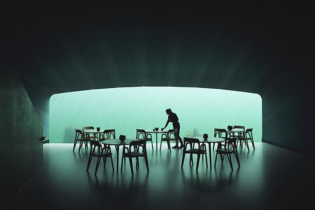 Under restaurant