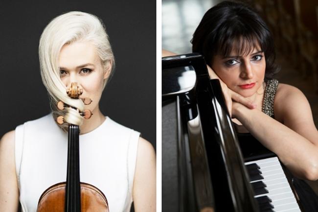 Aliyarova Eldbjørg Hemsing and Nargiz Aliyarova