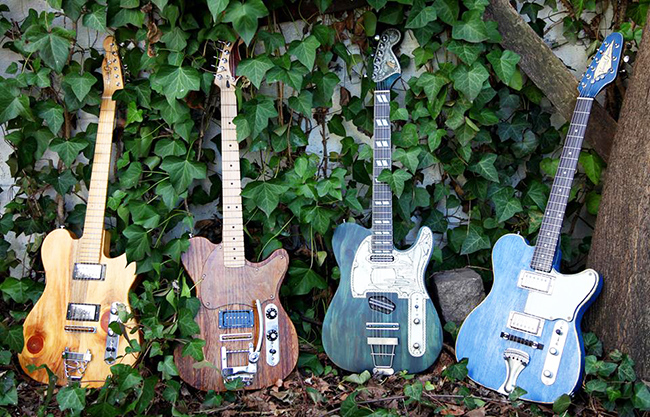 Victor Gurbo guitars