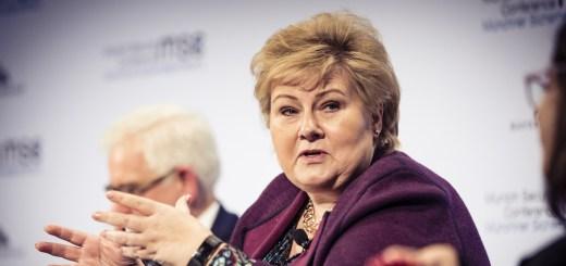 municipal elections - Erna Solberg