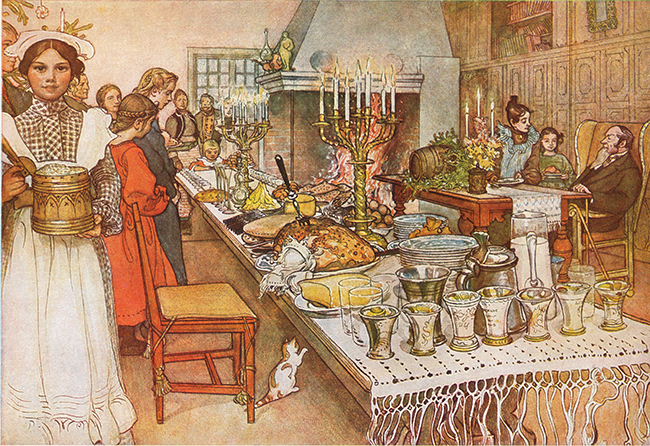 Carl Larsson jul