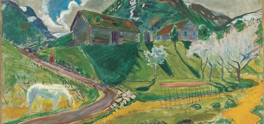 Astrup - White Horse in Spring