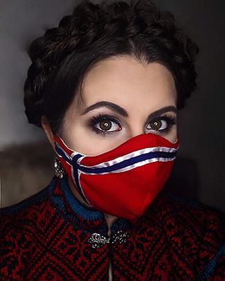 Norse masks - Madison Leiren