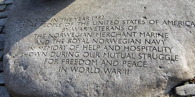 Norwegian war memorial