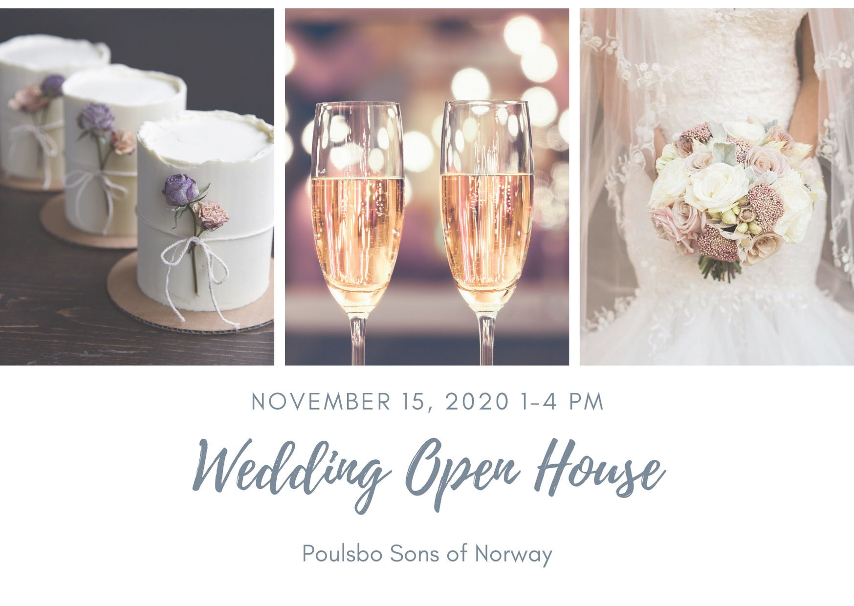 Poulsbo Wedding Venue Open House