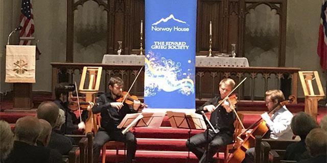 Grieg String Competition- Mindekirken