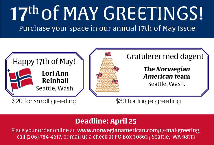 17th of May ad