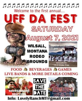 Uff Da Fest poster