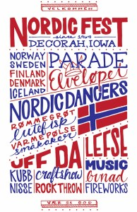 Nordic Fest poster