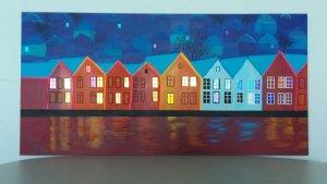 bryggen painting