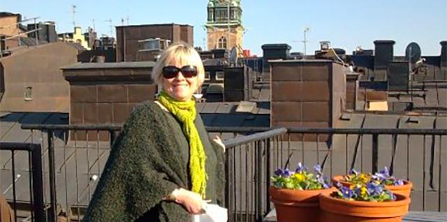 Lori Ann Reinhall in Stockholm, Sweden