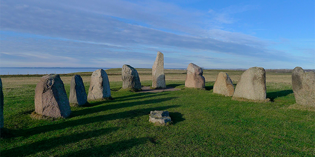 The Ale's Stones in Skåne