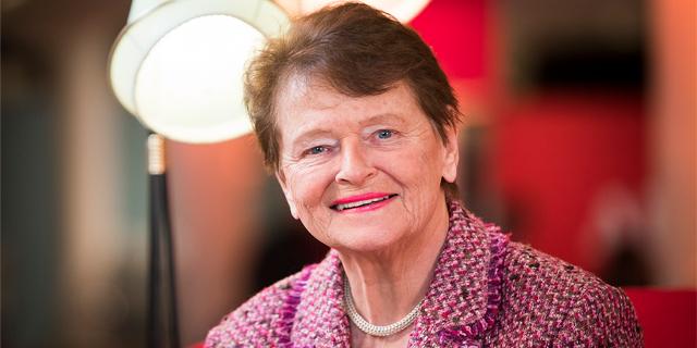 a headshot of Gro Harlem Brundtland