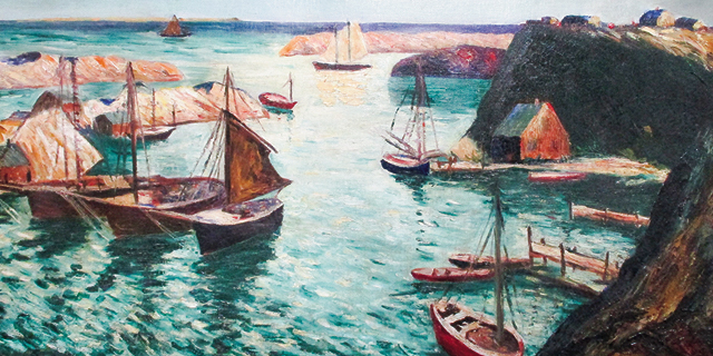 Quiet Cove painting
