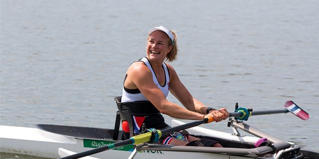 Birgit Skarstein is on the Norwegian Paralympic Team this year