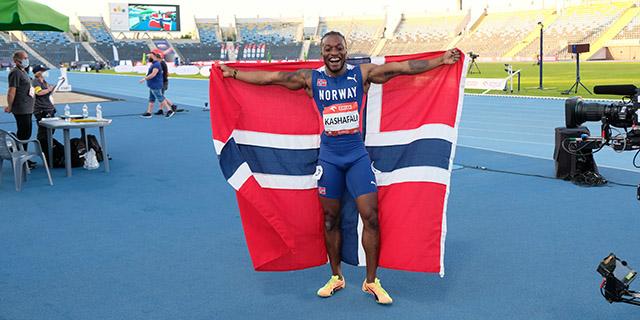 Salum Kashafali is on the Norwegian Paralympics team