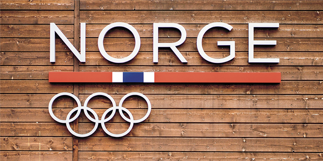 Norway Olympic headquarters sign. Team Norway is full of medal contenders at the Tokyo Olympics
