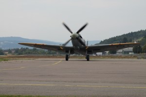 Back from the first sortie, SM520 comes back to Kjeller