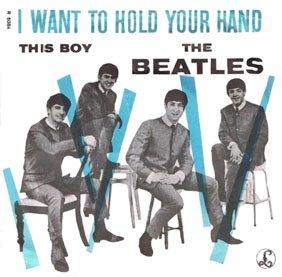 I Want To Hold Your Hand - blå versjon