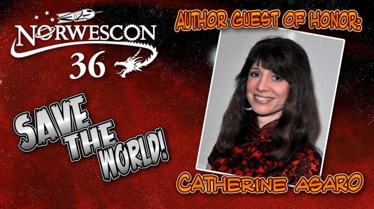 NWC36 Author Guest of Honor Catherine Asaro