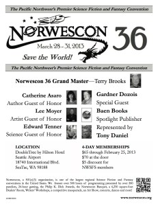 NWC36 Flyer (Black and White)
