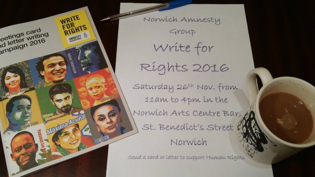 Amnesty Write for Rights