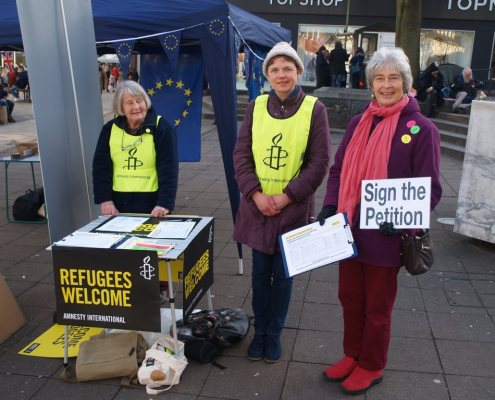 Members of our group took part in the Norwich '1 Day Without Us' event