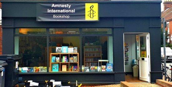 amnesty bookshop norwich front