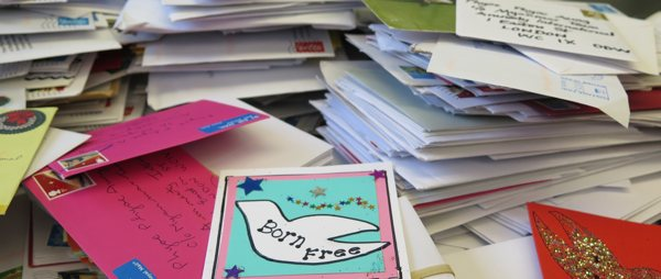 letters and cards