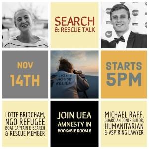 search and rescue talk