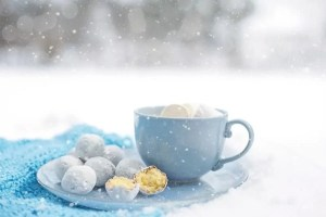 goodies and snow