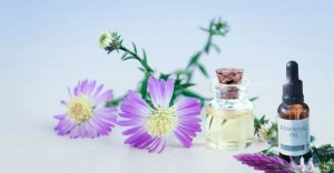 flowers-and-essential-oil-bottle