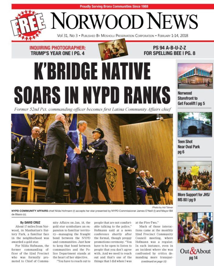 32efe0cf8133 K BRIDGE NATIVE SOARS IN NYPD RANKS