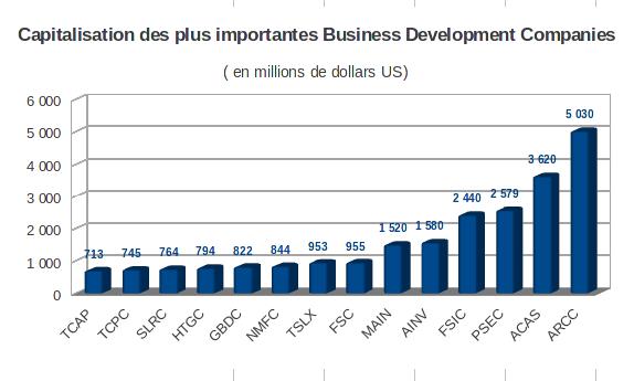 business development company par capitalisation